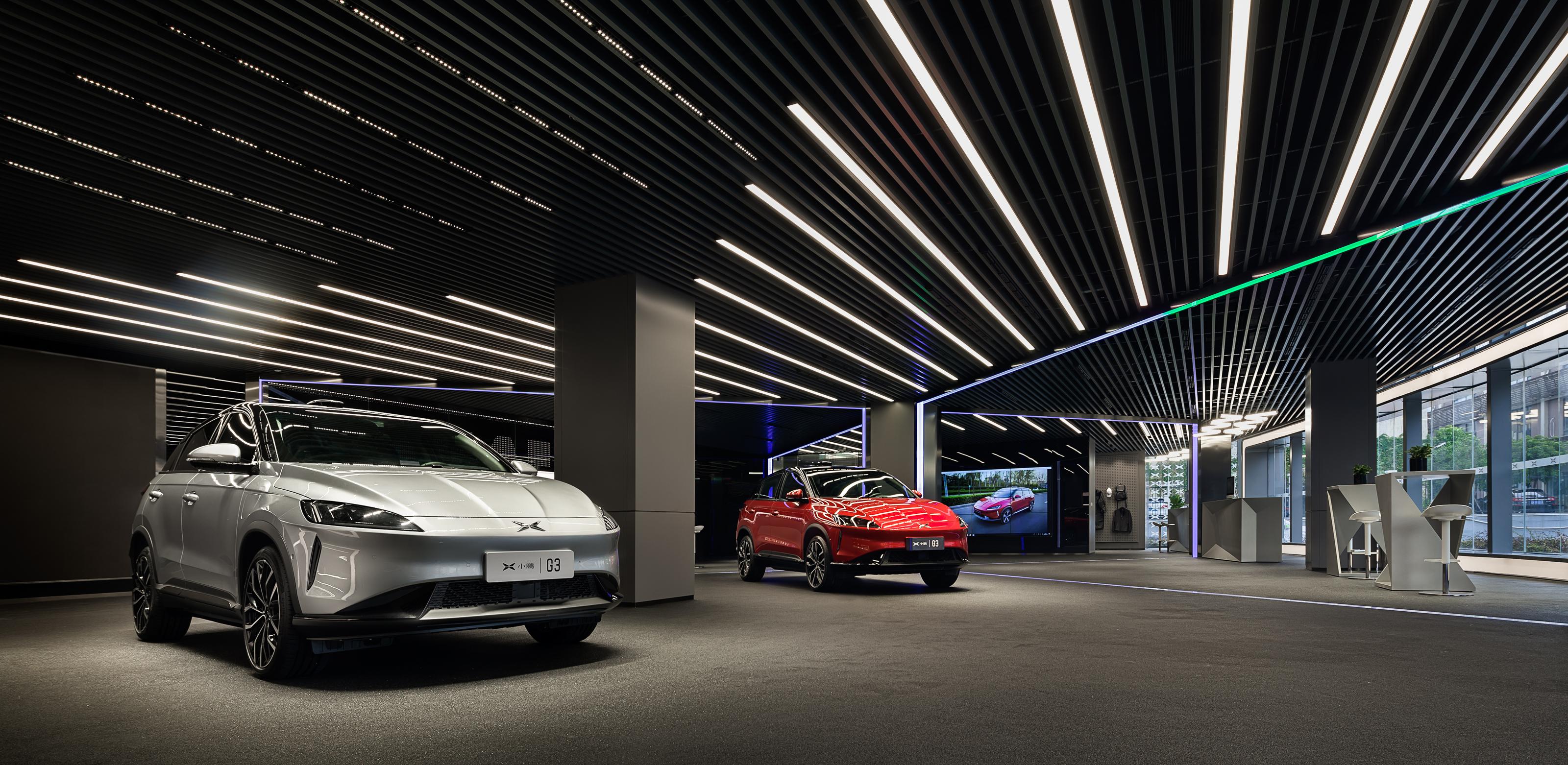广汽集团_小鹏汽车总部展厅-广州和玥装饰设计工程有限公司