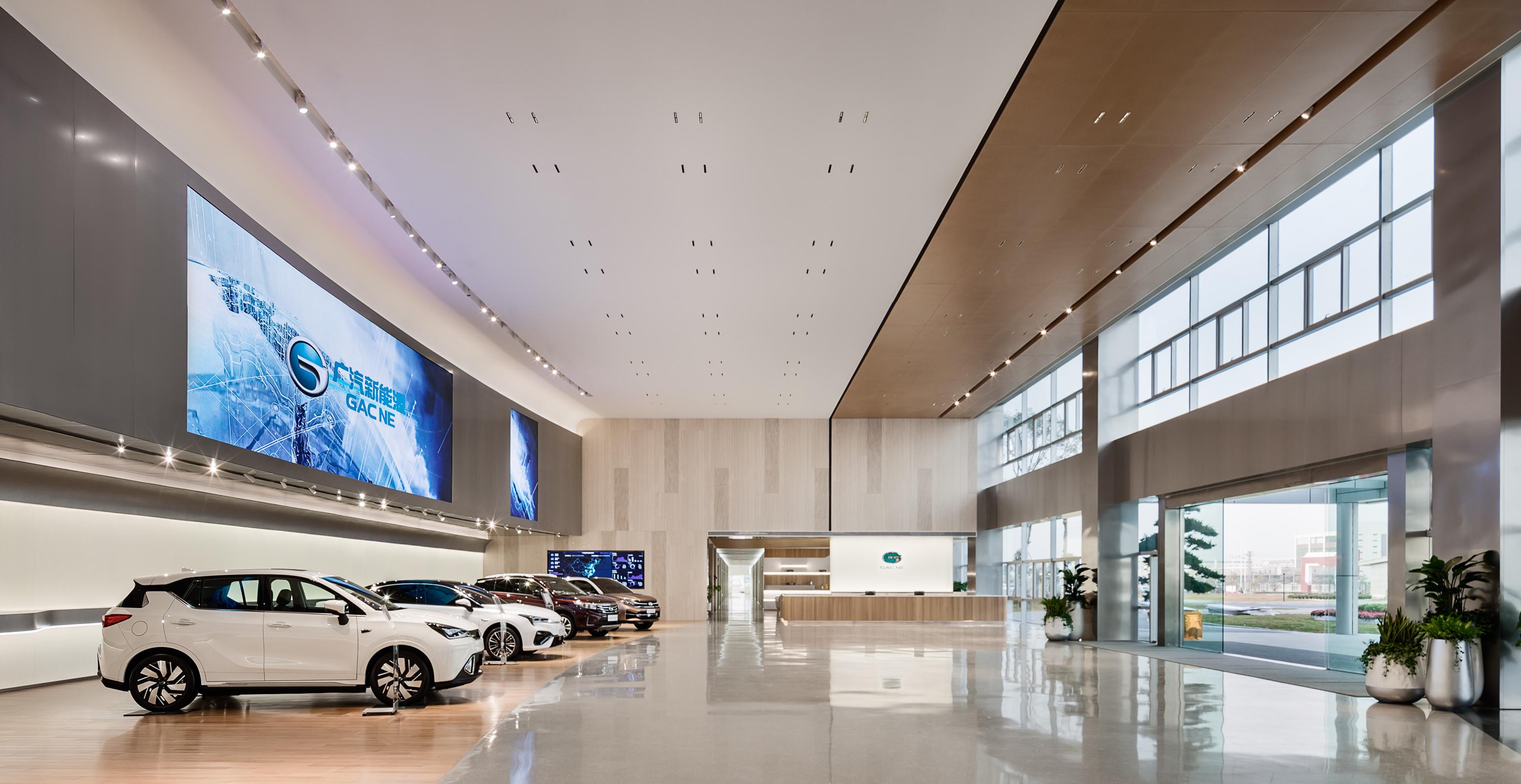 广汽集团_广汽新能源总部展厅-广州和玥装饰设计工程有限公司